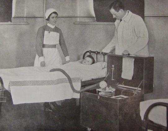 70. Bragg-Paul Pulsator, Cork Street Fever Hospital, 1935